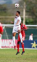 Jordan Hamilton. Canada played Panama during the CONCACAF Men's Under 17 Championship at Catherine Hall Stadium in Montego Bay, Jamaica.