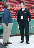 Kevin Sneddon (Vermont - Head Coach) - The University of Maine Black Bears defeated the University of New Hampshire Wildcats 5-4 in overtime on Saturday, January 7, 2012, at Fenway Park in Boston, Massachusetts.