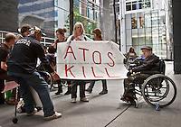 09.05.2011 - Disabled People Against Atos Origin