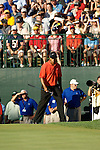 Tiger WOODS (USA) 4.Runde, 88th PGA Championship Golf, Medinah Country Club, IL, USA