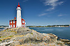 Fort Rodd Hill Lighthouse Victoria British Columbia