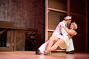 Emily Gardenhire and Todd Michel Smith perform in &quot;Dames at Sea&quot; at Hot Summer Nights at the Kennedy.