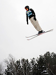 16 January 2009: Lydia Lassila from Australia performs aerial acrobatics during the FIS Freestyle World Cup warm-ups at the Olympic Ski Jumping Facility in Lake Placid, NY, USA. Mandatory Photo Credit: Ed Wolfstein Photo. Contact: Ed Wolfstein, Burlington, Vermont, USA. Telephone 802-864-8334. e-mail: ed@wolfstein.net