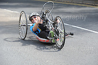One of the ompetitors during the Abergavenny Festival of Cycling &quot;Para Grand Prix of Wales&quot; race on Sunday 17th 2016<br /> <br /> <br /> Jeff Thomas Photography -  www.jaypics.photoshelter.com - <br /> e-mail swansea1001@hotmail.co.uk -<br /> Mob: 07837 386244 -