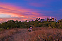 Montauk Manor, Napeague Bay &amp; Fort Pond, New York, Montauk,, Sunset