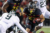 NCAA FOOTBALL: Michigan St. at Maryland