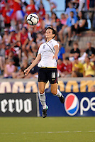 Megan Rapinoe ...USWNT tied Sweden 1-1 at Morrison Stadium, Omaha Nebraska.