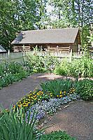 Historic Tullie Smith farm at Atlanta History Center in Atlanta Georgia