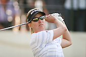 Apr. 1, 2006; Rancho Mirage, CA, USA; Karrie Webb tees off during the 3rd round of the Kraft Nabisco Championship at Mission Hills Country Club. ..Mandatory Photo Credit: Darrell Miho.Copyright © 2006 Darrell Miho .