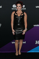 CULVER CITY, LOS ANGELES, CA, USA - FEBRUARY 27: Demi Lovato at the 1st Annual unite4:humanity Presented by unite4:good and Variety held at Sony Pictures Studios on February 27, 2014 in Culver City, Los Angeles, California, United States. (Photo by Xavier Collin/Celebrity Monitor)