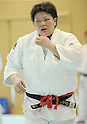 Mika Sugimoto, MARCH 28, 2012 - Judo : Japanese women's national team open the practice for press at Ajinomoto National Trining center in Itabashi, Japan. (Photo by Atsushi Tomura /AFLO SPORT) [1035]