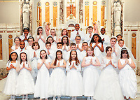 St Ann Parish - First Communion May 2012