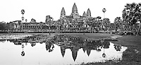 The magnificent temple of Angkor Wat in modern day Cambodia was the crowning achievement of the ancient Khmer Empire