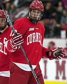 Anthony Angello (Cornell - 17) - The Harvard University Crimson defeated the visiting Cornell University Big Red on Saturday, November 5, 2016, at the Bright-Landry Hockey Center in Boston, Massachusetts.