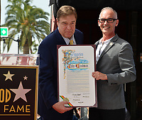 John Goodman &amp; L.A. Councilmember Mitch O'Farrell Hollywood Walk of Fame star ceremony honoring actor John Goodman. Los Angeles, USA 10 March  2017<br />