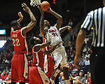 "Ole Miss' Murphy Holloway (31) vs. Rutgers at the C.M. ""Tad"" Smith Coliseum in Oxford, Miss. on Saturday, December 1, 2012. (AP Photo/Oxford Eagle, Bruce Newman).."