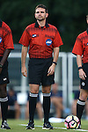 23 September 2016: Fourth Official Jeremy Smith. The University of North Carolina Tar Heels hosted the Boston College Eagles in Chapel Hill, North Carolina in a 2016 NCAA Division I Men's Soccer match. UNC won the game 5-0.