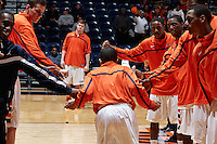 SAN ANTONIO, TX - DECEMBER 29, 2012: The Utah State University Aggies versus the University of Texas at San Antonio Roadrunners Men's Basketball at the UTSA Convocation Center. (Photo by Jeff Huehn)