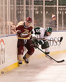 William Pelletier (Norwich - 20), Mike Driscoll (Babson - 17) - The Norwich University Cadets defeated the Babson College Beavers 1-0 on Thursday, January 9, 2014, at Fenway Park in Boston, Massachusetts.