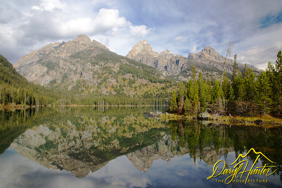 Taggert Lake, Grand Tetons, mountain reflection, Grand Teton National Park