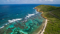 Boiler Bay on the way to Pt. Udal<br /> St. Croix east end<br /> US Virgin Islands