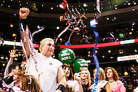 Bill Simmons aka &quot;El Wingador&quot; is crowned the champion at the 13th annual Wing Bowl, held in Philadelphia on February 4, 2005 at the Wachovia Center.<br /> <br /> The Wing Bowl is a competitive eating event in which eaters try and down the most hot wings in 30 total minutes in front of a crowd of 10,000 plus people.  The real show however is all around the eaters, from the various scantily clad women, known as &quot;Wingettes&quot;, that make up competitors' entourages to the behavior of the fans themselves.