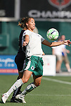 18 July 2009: Saint Louis' Niki Cross. The Washington Freedom defeated Saint Louis Athletica 1-0 at the RFK Stadium in Washington, DC in a regular season Women's Professional Soccer game.
