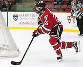 Jesper Öhrvall (RPI - 28) - The Harvard University Crimson defeated the visiting Rensselaer Polytechnic Institute Engineers 5-2 in game 1 of their ECAC quarterfinal series on Friday, March 11, 2016, at Bright-Landry Hockey Center in Boston, Massachusetts.