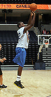 WF Jordan Hamilton (Los Angeles, CA / Dorsey) shoots the ball during the NBA Top 100 Camp held Thursday June 21, 2007 at the John Paul Jones arena in Charlottesville, Va. (Photo/Andrew Shurtleff)