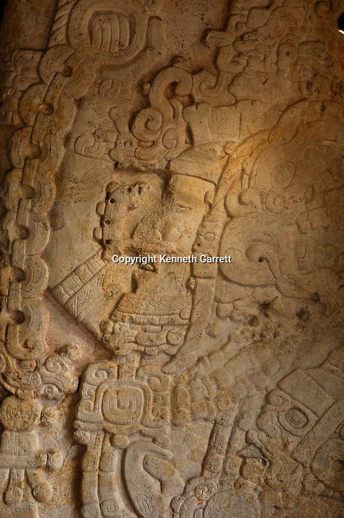 Maya Rise and Fall; Tikal; Stela 31; Stormy Sky; Mayan; Maya; Ancient Cultures