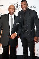 PHILADELPHIA, PA - SEPTEMBER 11 :  Lee Elder and Chris Tucker pictured at the Julius Erving Black Tie Ball red carpet at Sofitel Hotel in Philadelphia, Pa on September 11, 2016  photo credit  Star Shooter/MediaPunch