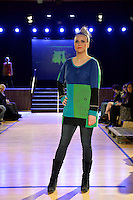 Heke Design, New Zealand Eco Fashion Exposed, Eco Designer Runway at Notre Dame Performing Arts Centre, Lower Hutt, New Zealand on Saturday 26 July 2014. <br /> Photo by Masanori Udagawa. <br /> www.photowellington.photoshelter.com.