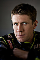 Carl Edwards, photographed in Rockingham, North Carolina on Thursday, January 15 2009. Photograph ©2009 Darren Carroll
