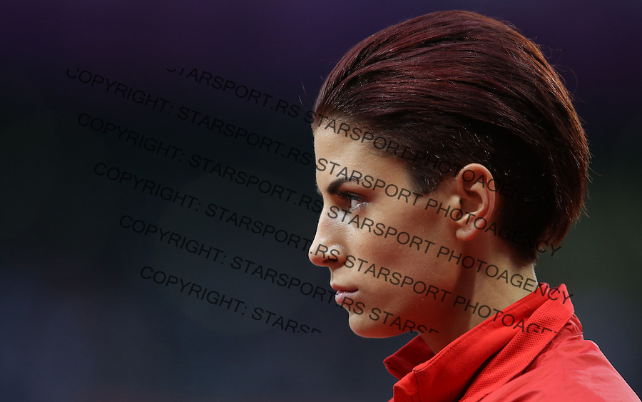 Atletika.Ivana Spanovic of Serbia competes in the Women's Long Jump Qualifications on Day 11 of the London 2012 Olympic Games at Olympic Stadium.Ivana Spanovic skok u dalj.London, 07.08.2012..foto: Srdjan Stevanovic/Starsportphoto ©