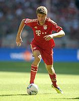 FUSSBALL   1. BUNDESLIGA  SAISON 2011/2012   5. Spieltag FC Bayern Muenchen - SC Freiburg         10.09.2011 Thomas Mueller (FC Bayern Muenchen)