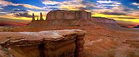 John Ford Point, Monument Valley, Arizona, Utah, USA, Indian, Tribal Park, Historic site,