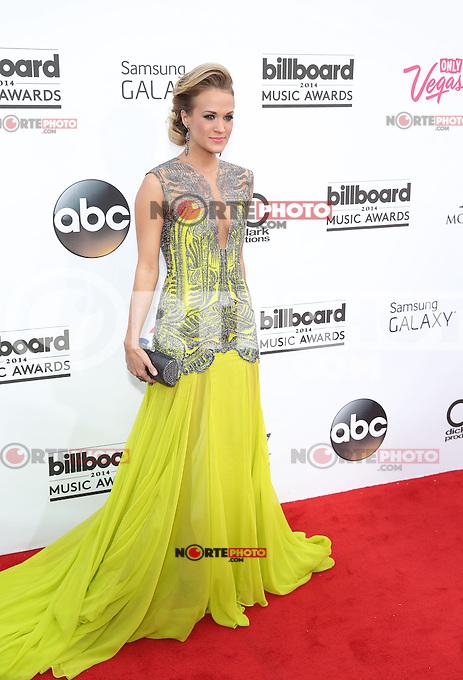 LAS VEGAS, NV - May 18 : Carrie Underwood  pictured at 2014 Billboard Music Awards at MGM Grand in Las Vegas, NV on May 18, 2014. © Kabik/ Starlitepics