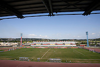 Catherine Hall Stadium. Panama defeated Jamaica, 1-0, during the third place game of the CONCACAF Men's Under 17 Championship at Catherine Hall Stadium in Montego Bay, Jamaica.