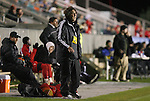 13 November 2009: NC State head coach George Tarantini. The North Carolina State University Wolfpack defeated the Boston College Eagles 1-0 at WakeMed Stadium in Cary, North Carolina in an Atlantic Coast Conference Men's Soccer Tournament Semifinal game.