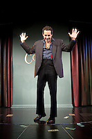 Comedian Waleed Zuaiter performs in the 6th Annual NY Arab-American Comedy Festival in New York, USA, 10 May 2009.