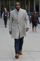 MAR 06 Sol Campbell at BBC Centre