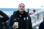 10 April 2016: Hope Solo (USA). The United States Women's National Team played the Colombia Women's National Team at Talen Energy Stadium in Chester, Pennsylvania in an women's international friendly soccer game. The U.S. won the match 3-0.