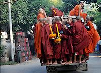 Burma Monks and Nuns