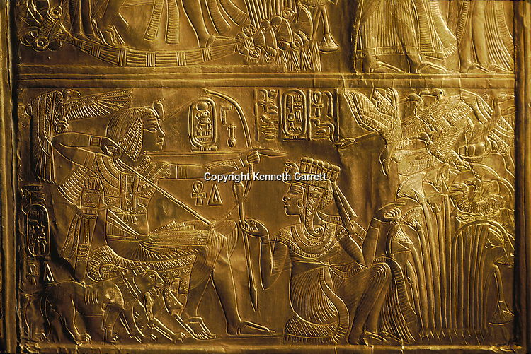 King Tutankhamun; Egypt; New Kingdom; Tutankhamun; Valley of the Kings; Tut; Tomb; Gold; Canopic Shrine