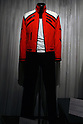 May 12, 2010 - Tokyo, Japan - 'Beat It' jacket is on display at the 'Michael Jackson - The official Lifetime Collection' exhibition, in a hall at the foot of Tokyo Tower, Tokyo, Japan, on May 12, 2010. More than 280 items of Michael Jackson memorabilia including crystal-studded gloves and favorite 1967 Rolls Royce are on display until July 4. (c) MICHAEL JACKSON ESTATE.