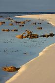 Marée basse sur l'îlot Ua, aux Cinq îles, lagon sud, Nouvelle-Calédonie