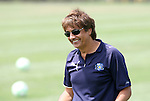 21 August 2009: Los Angeles head coach Abner Rogers. The Los Angeles Sol held a training session at the Home Depot Center in Carson, California one day before playing Sky Blue FC in the inaugural Women's Professional Soccer Championship Game.