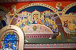 St. Sava frescos by Miloje Milinkovic