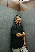 Haruki Murakami, novelist/essayist. Tokyo, Japan. 15.07.04