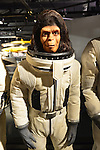 Garden City, New York. 15th June 2013. Dr. Zira in a spacesuit from the Planet of the Apes film is on display at the Eternal Con Pop Culture Expo, which was hosted by the Cradle of Aviation Museum of Long Island. This and other film memorabilia was brought by Billy Simons, the owner of one of the world's largest personal collections of original Planet of the Apes costumes and props that were actually used in the 1960s and 1970s films.